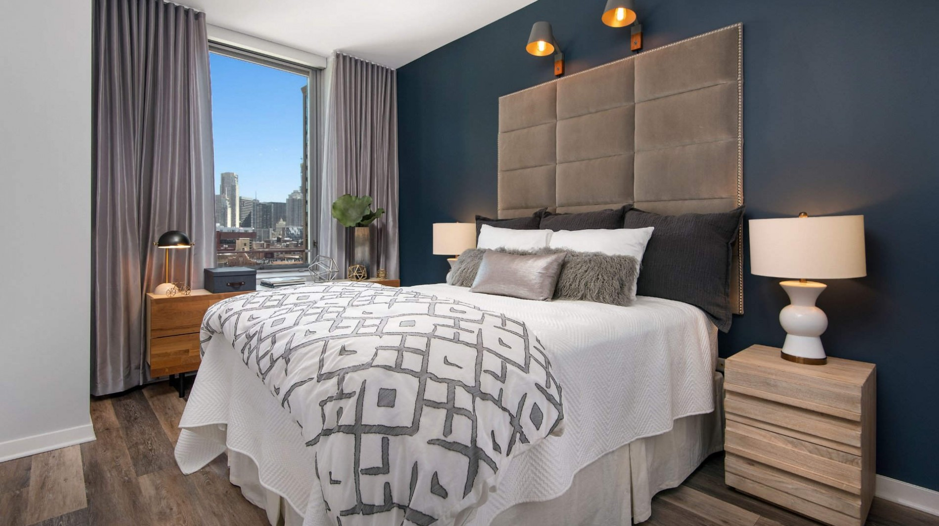 Find the perfect one, two or three bedroom apartments and penthouses with expansive layouts and sweeping views.
