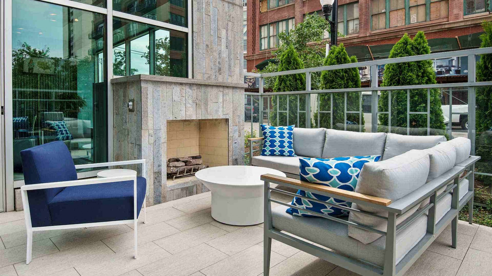 Private balconies and terraces available for outdoor entertaining.