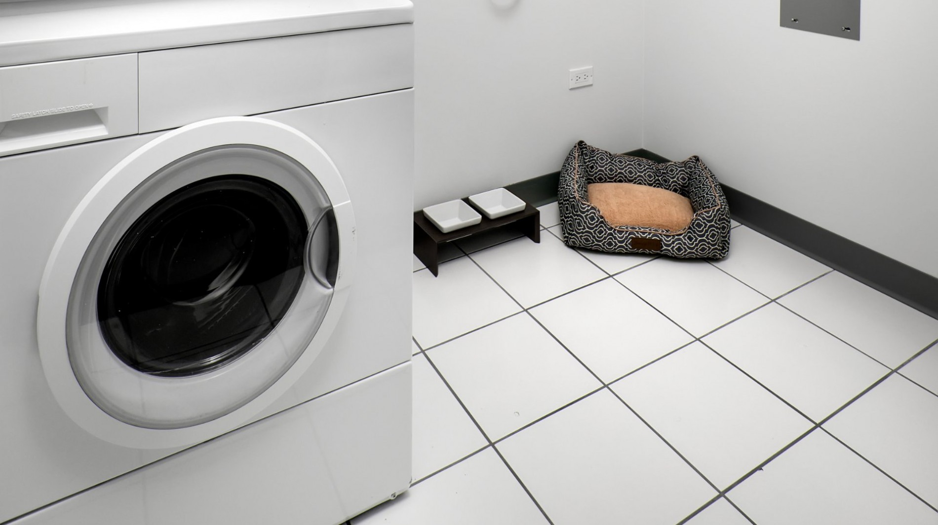Full-size ENERGY STAR washers and dryers are included in every residence.