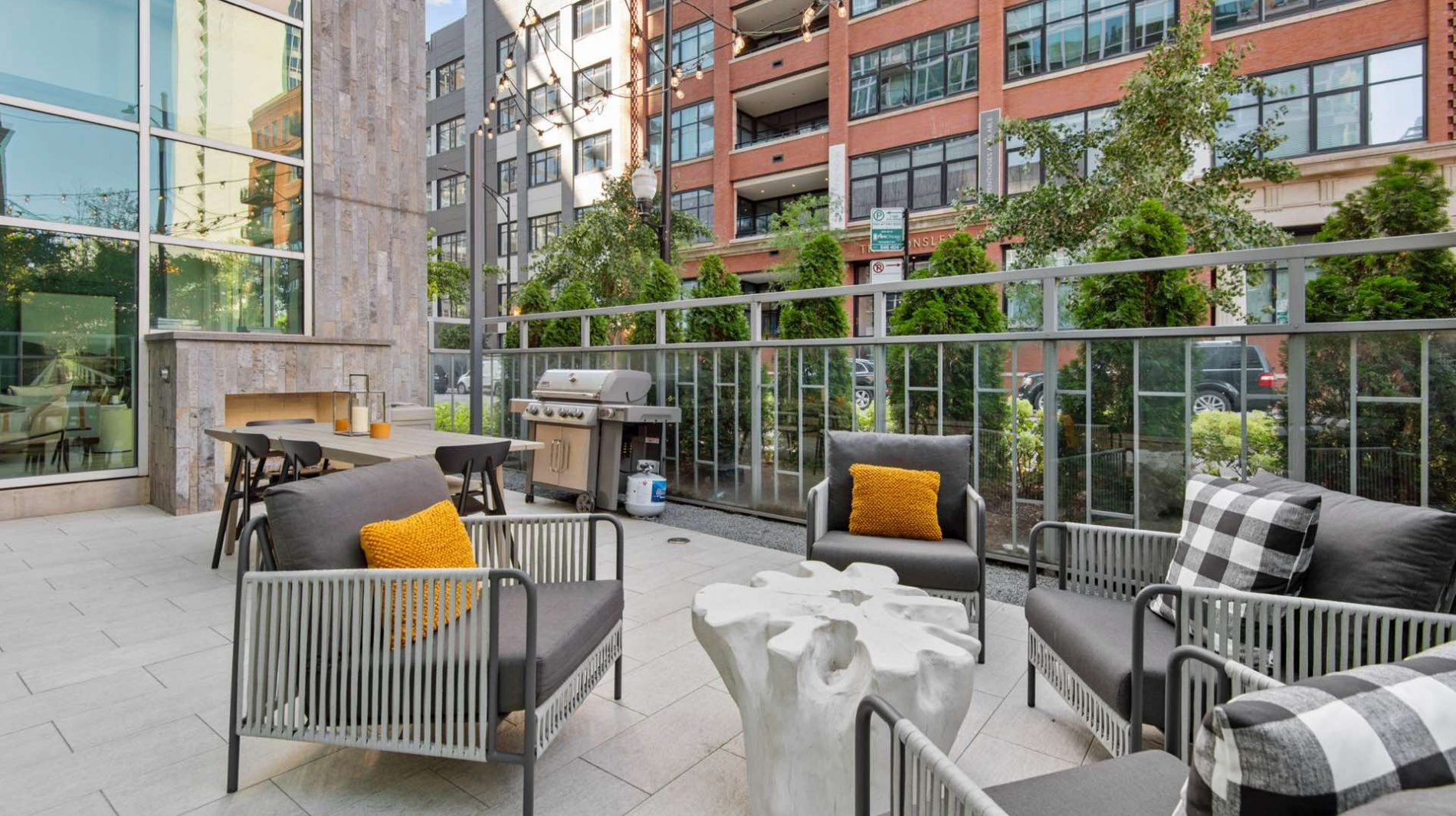 Experience the perfect balance of neighborhood charm and urban apartment living at Parc Huron.