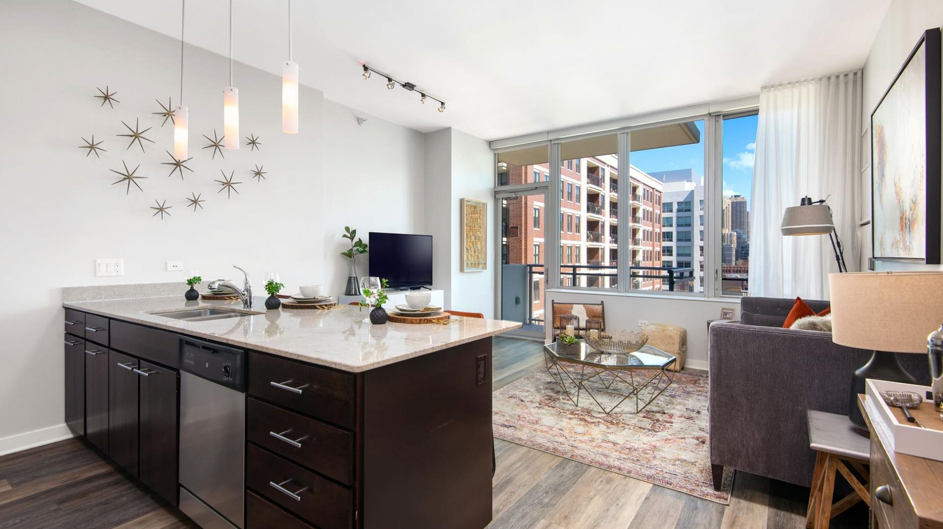 Soaring ceiling heights and spacious layouts await you at Parc Huron.